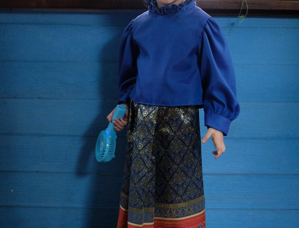 JaoJom- Sukkothai set-blue