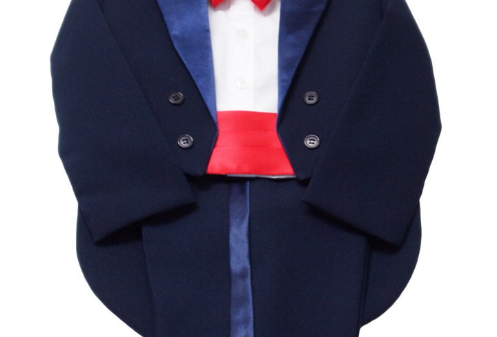 Tuxedo Navy- Red