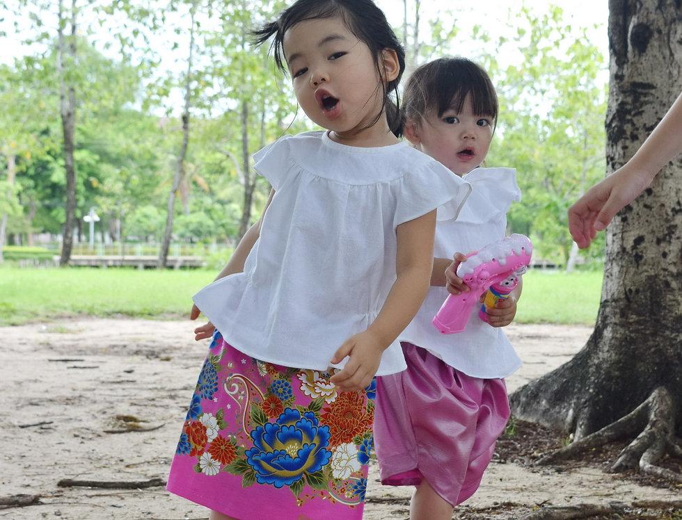 ชุดไทยเด็ก รุ่น B4/SR6