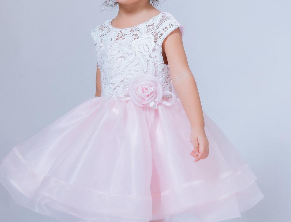 ชุดราตรีเด็ก SS-2042 Pink