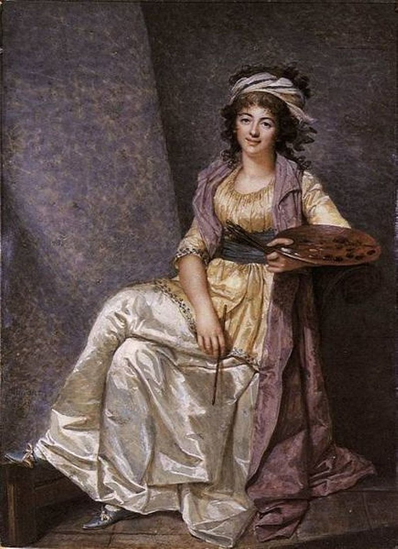 French painter Marguerite Gérard (1761–1837, by François Dumont — Art Renewal Center