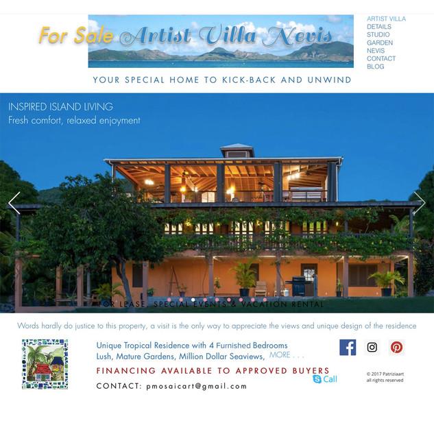 Artist Villa Nevis