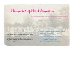 Memories of Mont Amoena