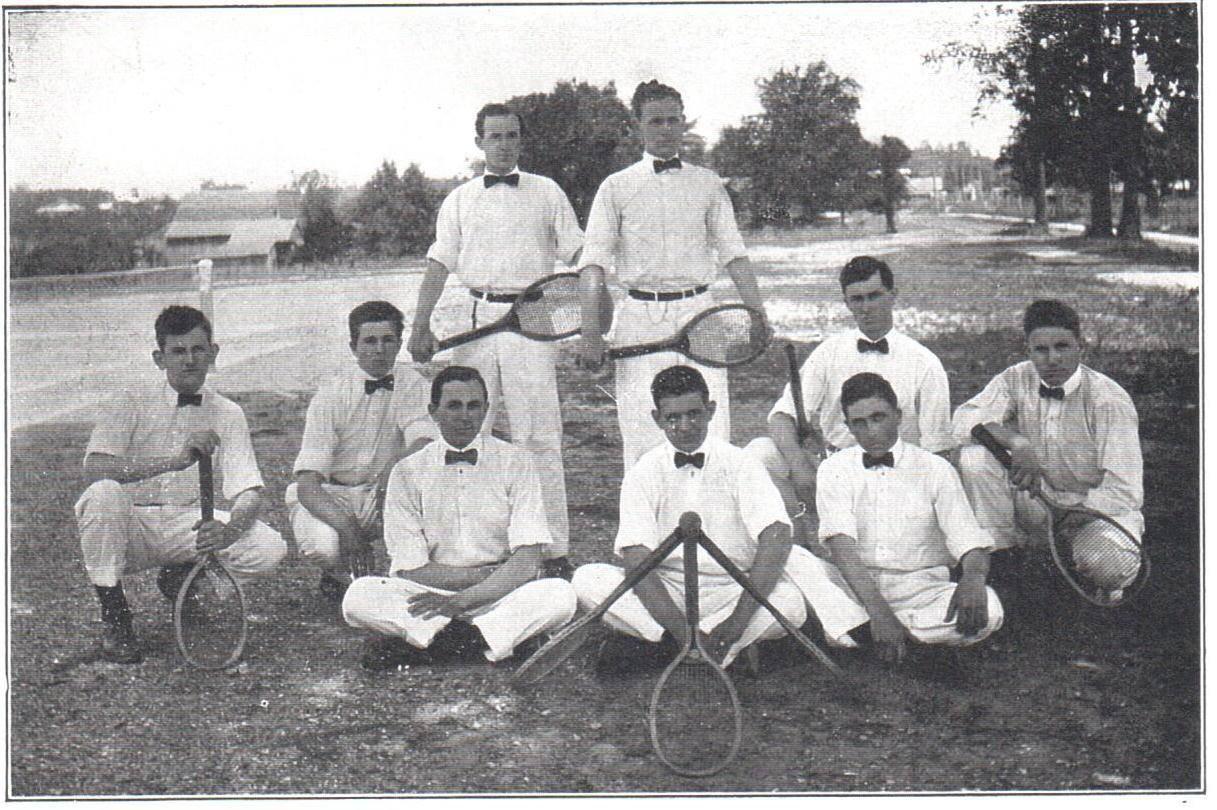 MPCI tennis team 1914