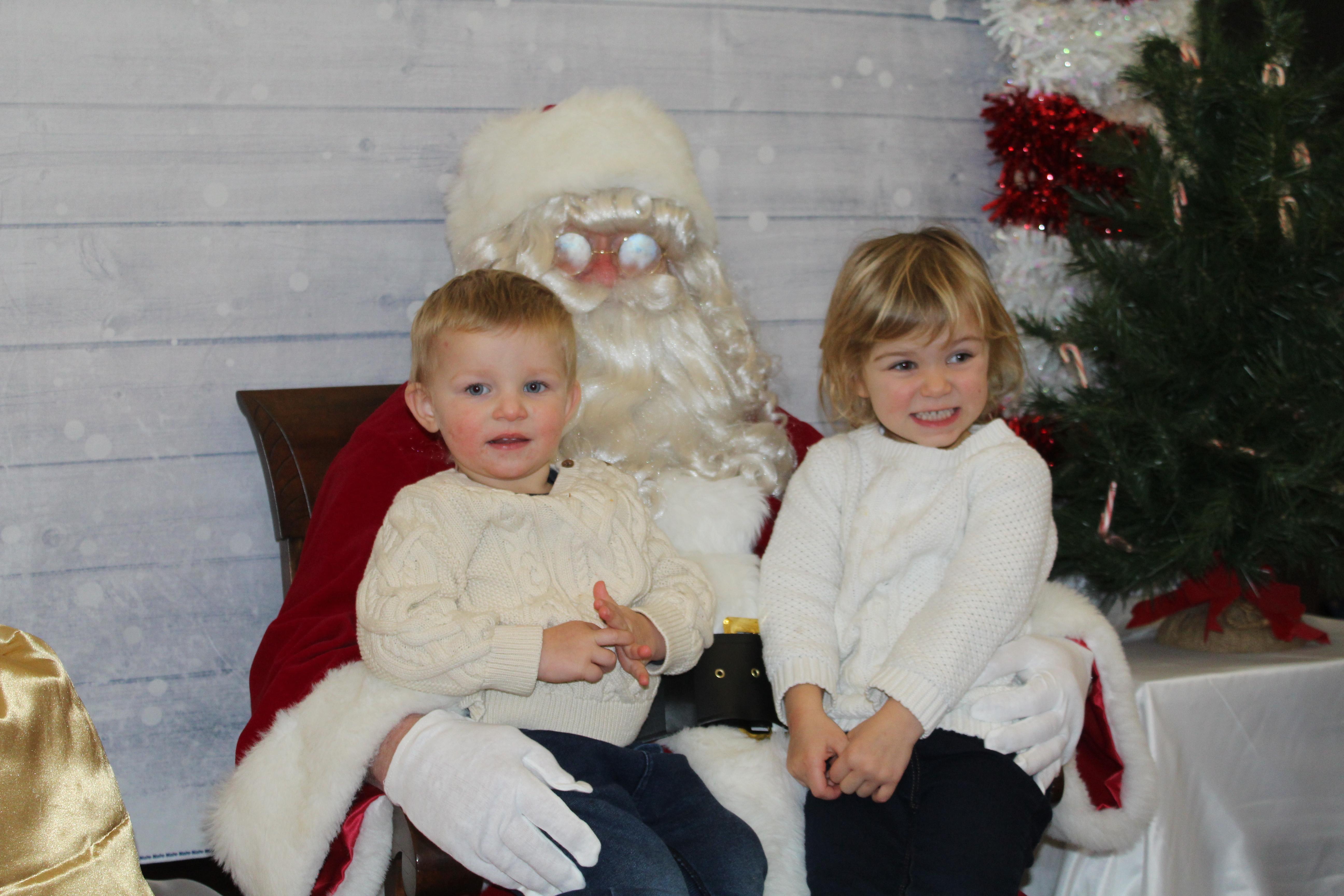 Children Visit with Santa at Christmas O