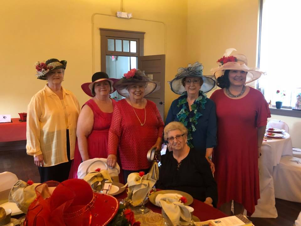 Ladies in Their Hats at Kentucky Derby T