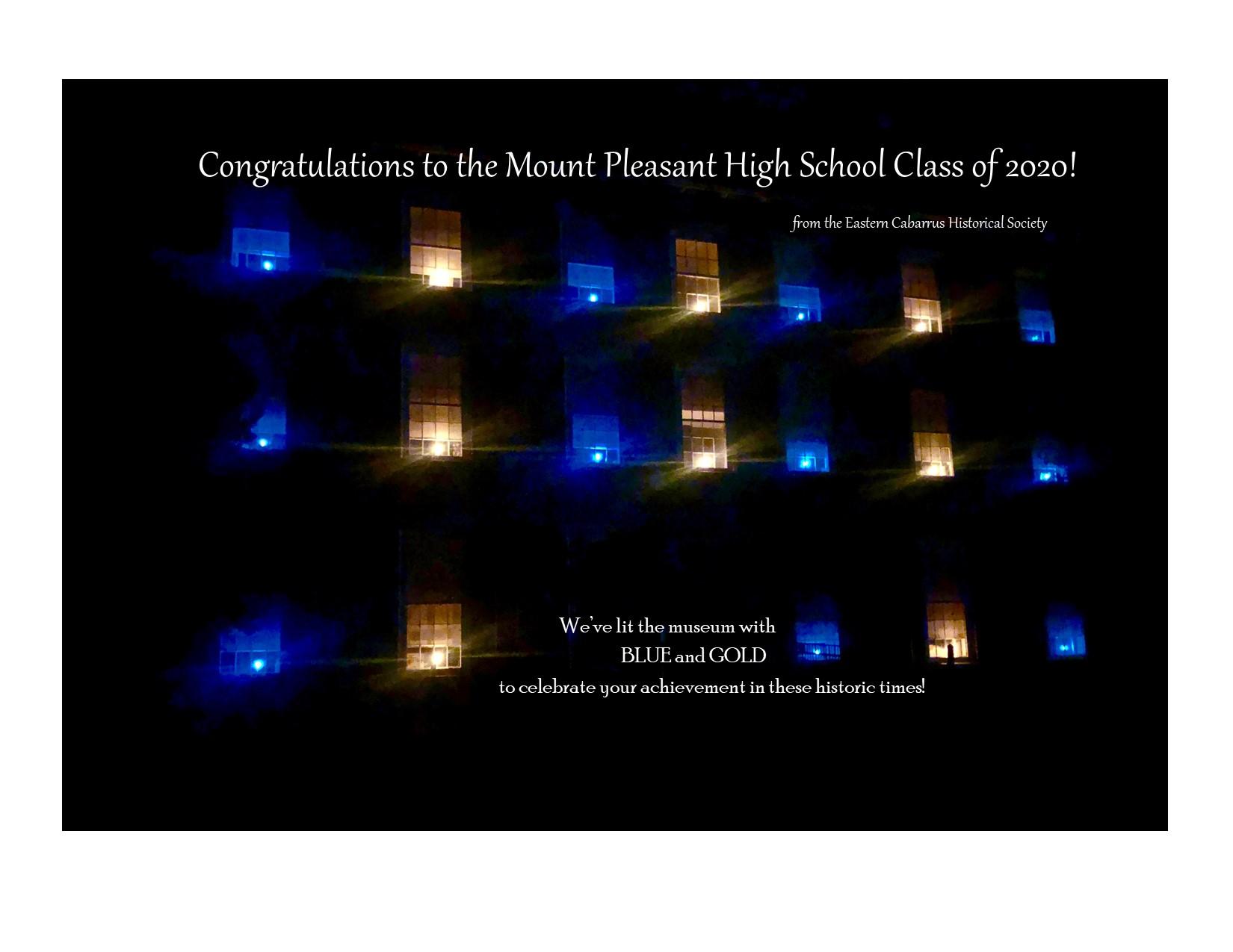 Congrats 2020 grads