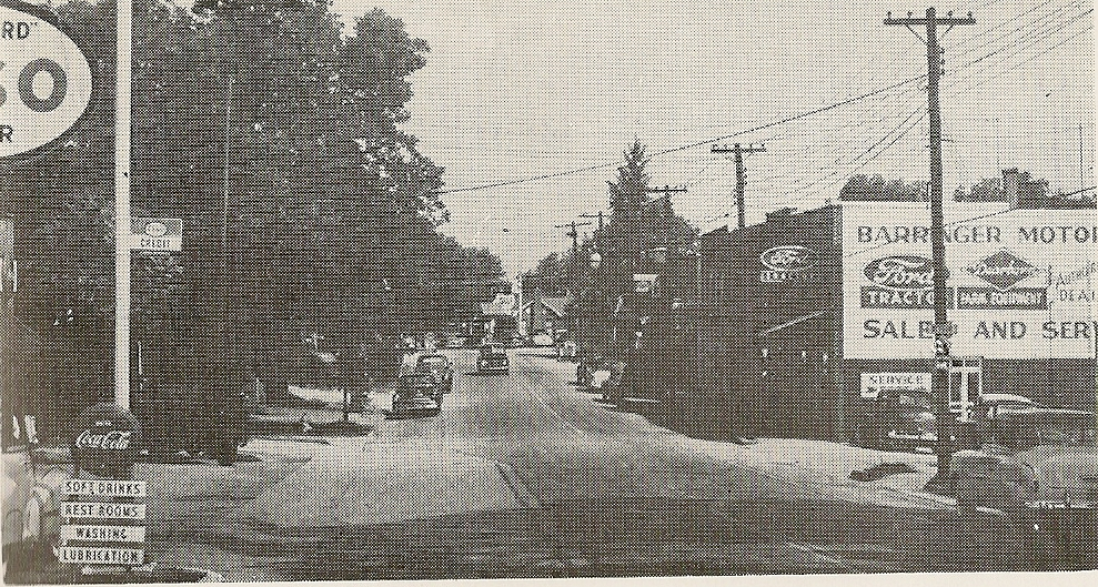 Mount Pleasant in 1958