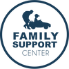 Family Support Center Logo -Blue on Tran