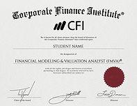 Certificate CFI