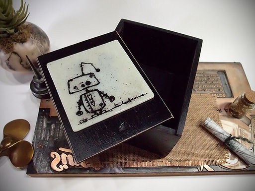 Robot - Mixed Media Box