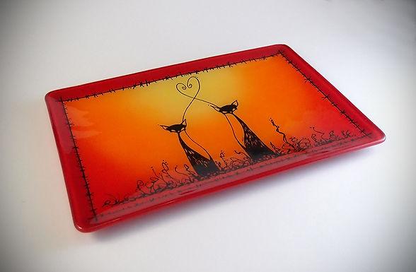 Cat Platter - Medium