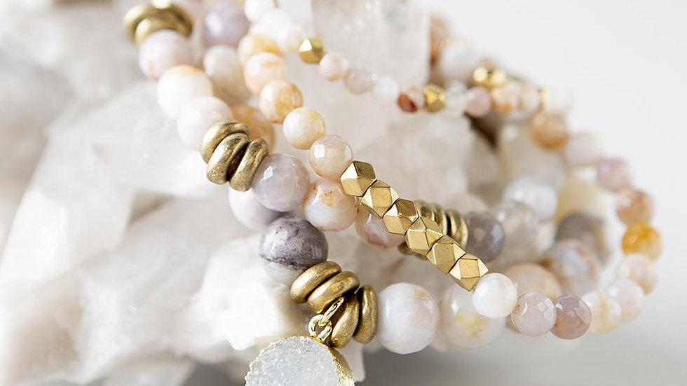 Rainbow Agate Gemstone Bracelets