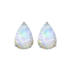 Star K Pear Shaped Simulated Opal