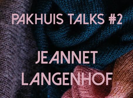 Pakhuis Talks #2: 'Naar Hetty gaan brengt mij veel.'