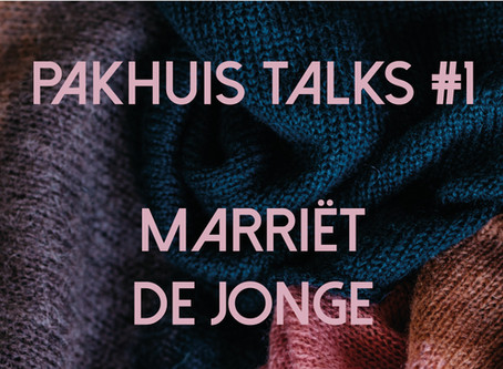 Pakhuis Talks #1: 'Ze zijn eerlijk en net een tikkeltje anders dan anders.'