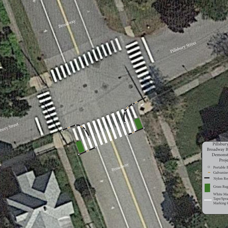 South Street and Broadway/Pillsbury Demonstration Project