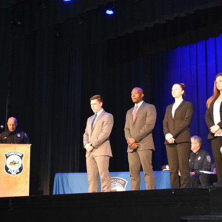 Concord Police Department Awards & Recognition Ceremony