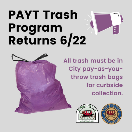 PAYT Bag Program Returns June 22