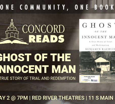 Concord Reads 2019 Title & Event Information
