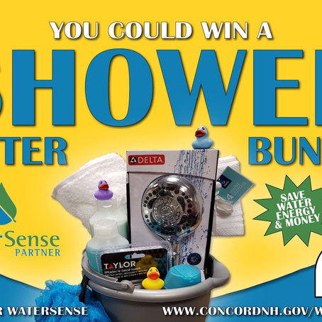"Concord Water Customers Can ""Shower Better"" this October with E-Z Pay for WaterSense Contest"