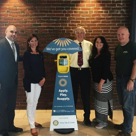 Concord Hospital Payson Center for Cancer Care, Rotary Club of Concord provide free sunscreen