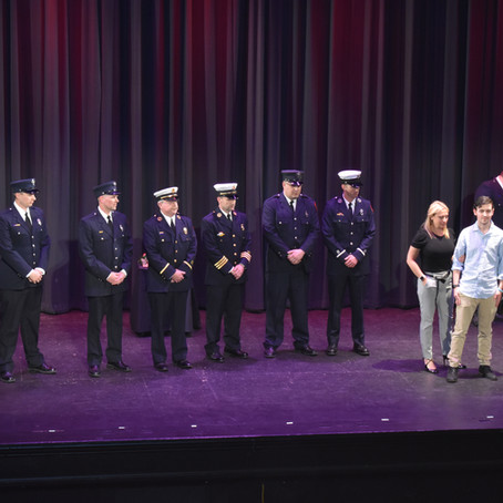 Concord Fire Department Awards & Recognition Ceremony
