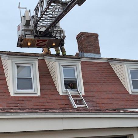 Fire Department Training at Days Inn
