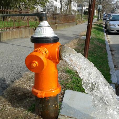 Spring Hydrant Flushing