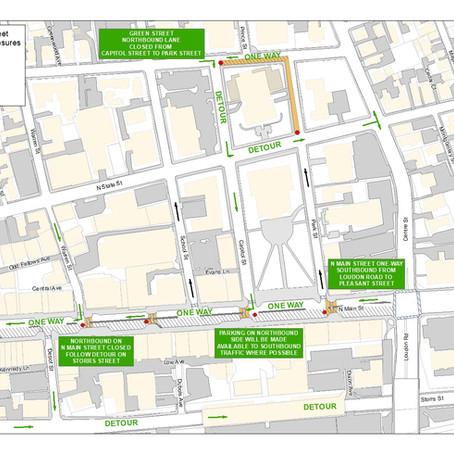 Main Street Crosswalk Repairs