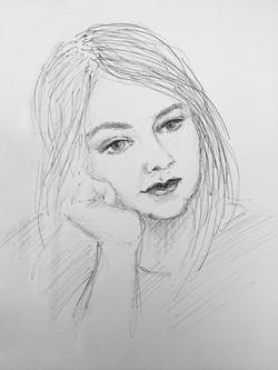 Melinda's portrait