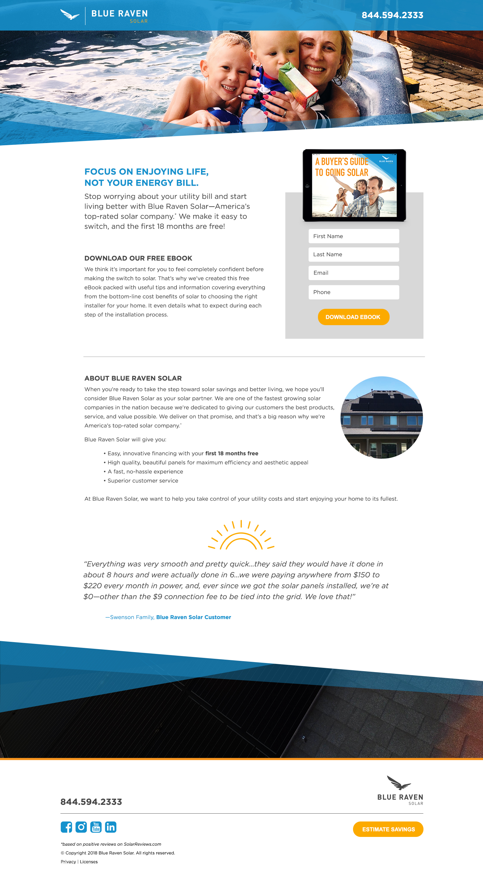 Buyers Guide Funnel Landing Page