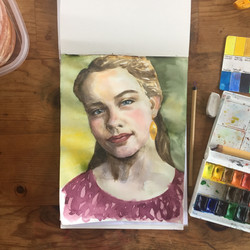 Daughter's portrait