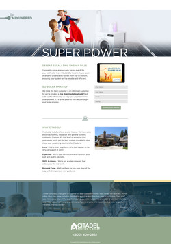 Buyer's Guide Landing Page