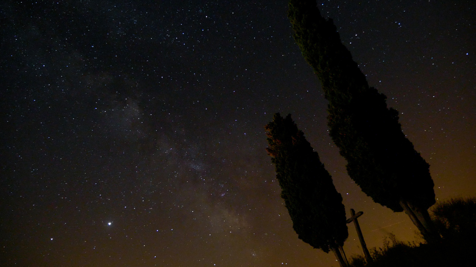 Milky Way over Les Causses, Aveyron