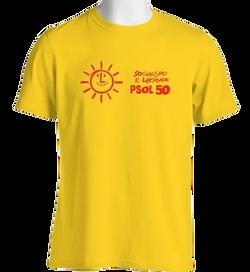 Camiseta Amarela do PSOL