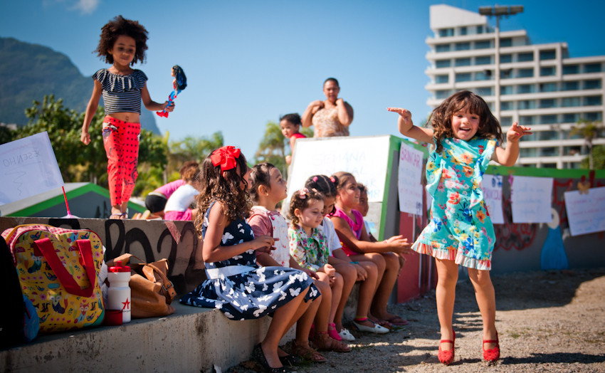 Cultive Arte 2018   Semana Mundial do Brincar   Praça Duó