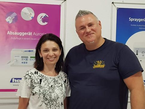 Кленина Наталья и Крис Мензель