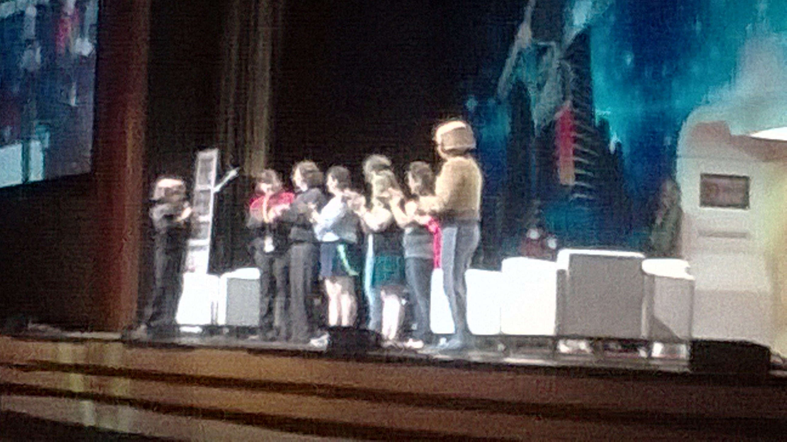 Nog and Rom entertain @STLV
