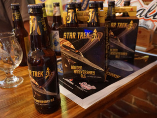 For 'Star Trek' Golden Anniversary, Golden Ales to Quaff