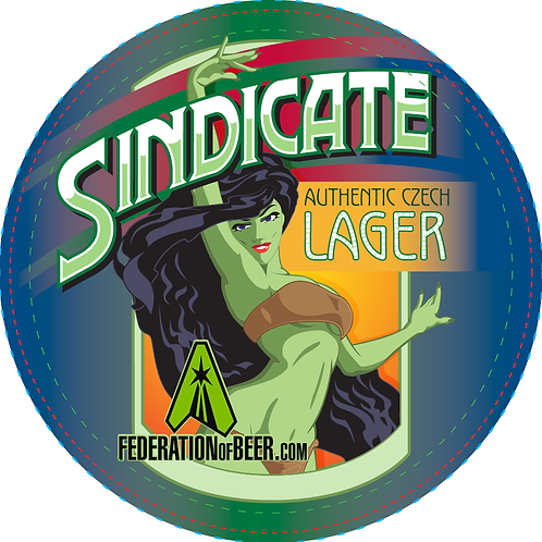 Sindicate Lager Beer Coaster