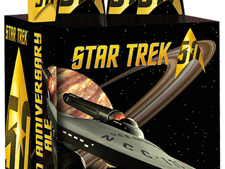 Shmaltz Star Trek Golden Anniversary Ale, a beer built for fans of the series.