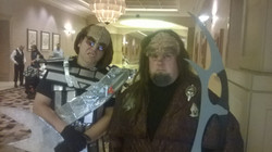 Local STLV Klingons arrive in style