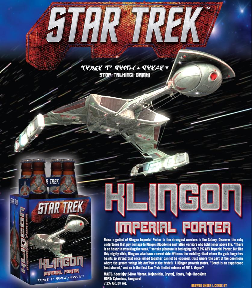 Star Trek Klingon Imperial Porter