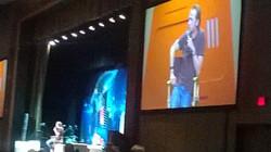 STLV Simon Pegg entertains the crowd