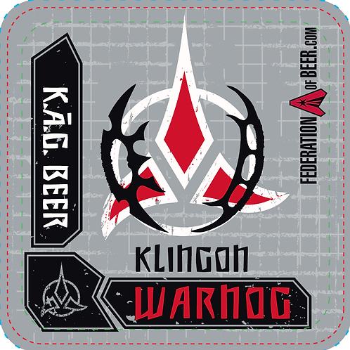 Beer Coaster - Klingon Warnog Roggen Dunkel