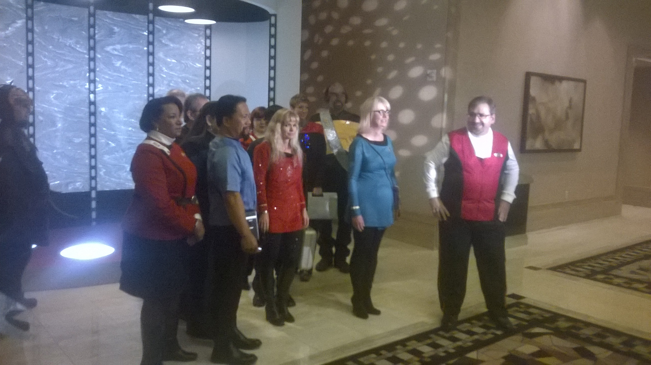 STLV Wedding Party Photo Op
