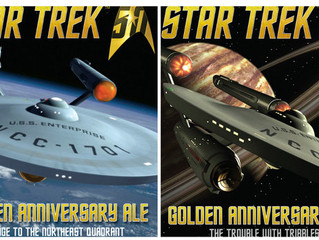 'Star Trek' beers out from Shmaltz Brewing