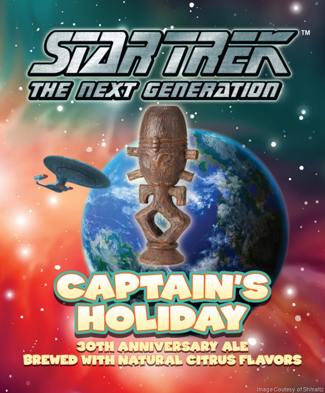 Star Trek Captain's Holiday #TNG30