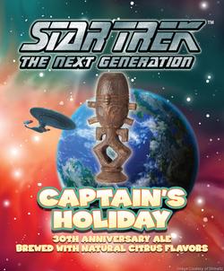 Star Trek Captain's Holiday #TNG30